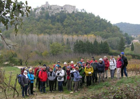 Le groupe devant St Thomé